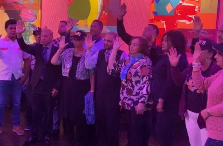 Partido Revolucionario Moderno juramenta a ex Ramfistas en NYC