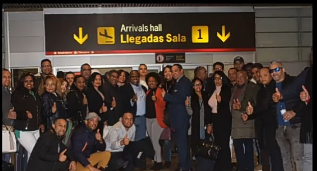 VÍDEO | Margarito C. De León llega a Madrid para trazar líneas llevarían al poder Abinader